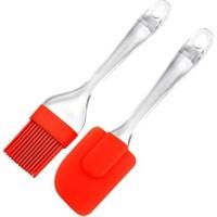 Homerest Silikon Fırça ve Spatula Seti