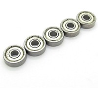 Dünya Magnet 5 Adet 625ZZ Rulman - Metal Mühürlü Çok Amaçlı Bilye Rulman - 5X16X5 Ölçülerinde