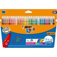 Bic Kids Couleur Yıkanabilir Keçeli Boya Kalemi 24 Renk