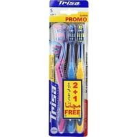 Trisa Flexible Head Diş Fırçası 3lü Soft - Yumuşak