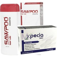Sawpoo Xpecıa Erkek 60 Tablet + Sawpoo 300 ml Şampuan