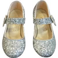 Sparkle Topuklu Ayakkabı Gümüş