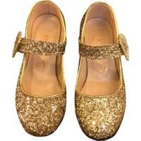 Sparkle Topuklu Ayakkabı Altın