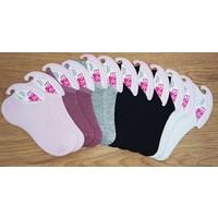 Integral 12 Çift Bayan Sneakers Patik Görünmez Çorap