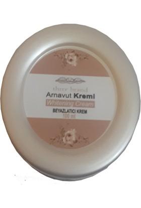 Three Brand 100 ml Arnavut Aklık Kremi 2 Adet + Foot Care Cream Cooling Peppermint 50ML Ayak Bakım Kremi Nane Ferahlığı ve Kokusu 1 Adet