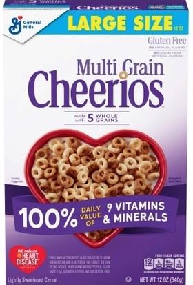 General Mills Multi-Grain Cheerios Çok Tahıllı Kahvaltılık Gevrek 340 gr