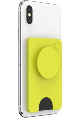 Popsockets Popwallet Plus Neon Yellow
