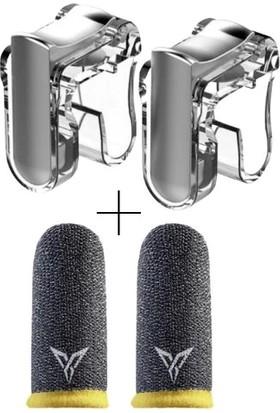 M4 Pubg Tetik L1R1 Trigger ve Logolu Parmak Eldiven
