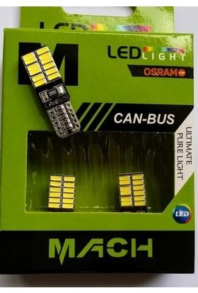 Mach T10 LED 24 Ledli Metal Ultra Beyaz Park Plaka Tavan Ampülü 2'li