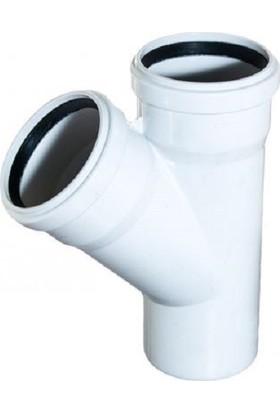 Plastherm Tek Çatal (Tip 1 - 45°)