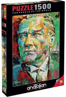 Anatolian 1500 Parça Mustafa Kemal Atatürk Puzzle - 4555