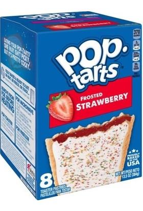 Pop-Tarts Frosted Strawberry Çilek Doldulu Bisküvi 384 gr