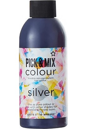 Superdrug Pick And Mix Colour Gümüş