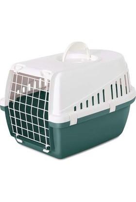 Savic Trotter 1 Beyaz Nordıc Yeşil Kedi ve Köpek Taşıma Kafesi