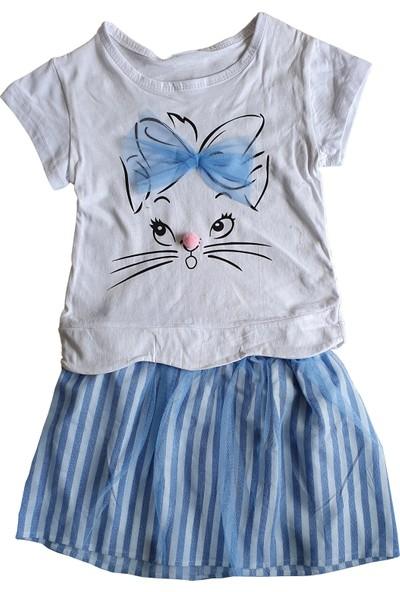 Aycity Baby Hil Kedili Etekli Kız Çocuk Takım