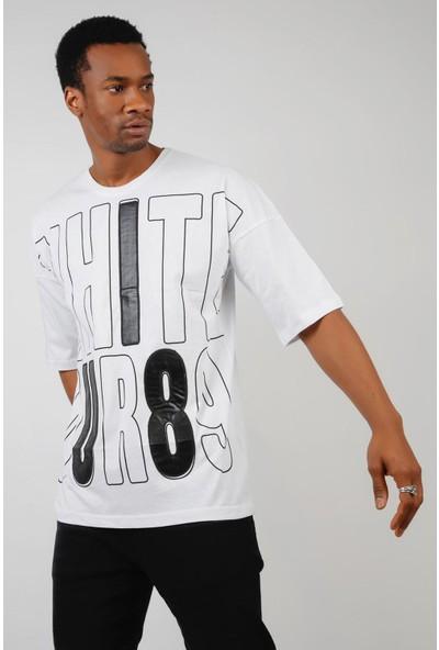 Ozmood Baskılı Oversize T-Shirt