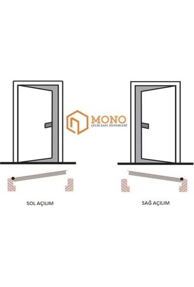 Mono Çelik Kapı MN-2005 Dış Iklim Çelik Kapı ( Yağmura Günüşe Dayanıklı )