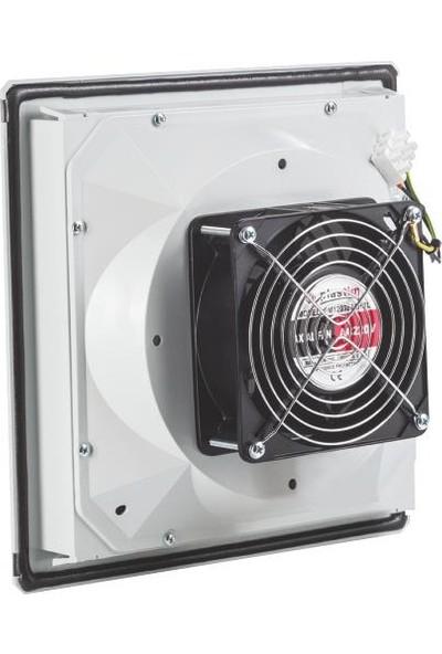 Plastim 260 x 260 mm 115M3/H IP54 Filtreli Fan