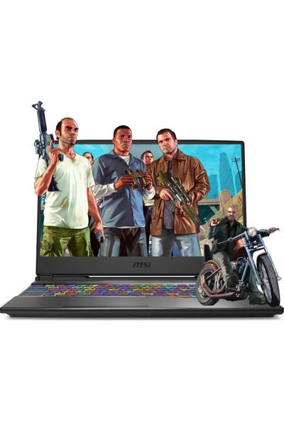 "MSI Alpha 15 A4DEK-018XTR43 AMD Ryzen 7 4800H 64GB 1TB SSD + 512GB SSD RX5600M Freedos 15.6"" FHD Taşınabilir Bilgisayar"
