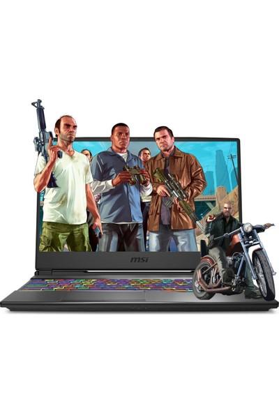 """MSI Alpha 15 A4DEK-018XTR39 AMD Ryzen 7 4800H 64GB 256GB SSD RX5600M Freedos 15.6"""" FHD Taşınabilir Bilgisayar"""