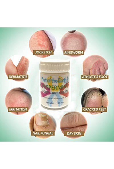 Foot Care Cream Cooling Peppermint 50 ml Ayak Bakım Kremi Nane Ferahlığı ve Kokusu
