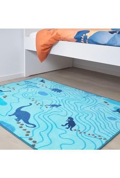 Ikea Jattelık Halı, Mavi 404.641.68 100X133CM
