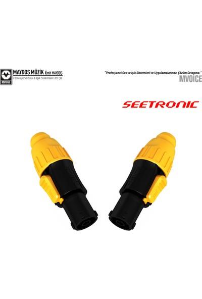 Seetronic SAC3FX - 3 Pin In Powercon Konnektör (2 Li Paket)