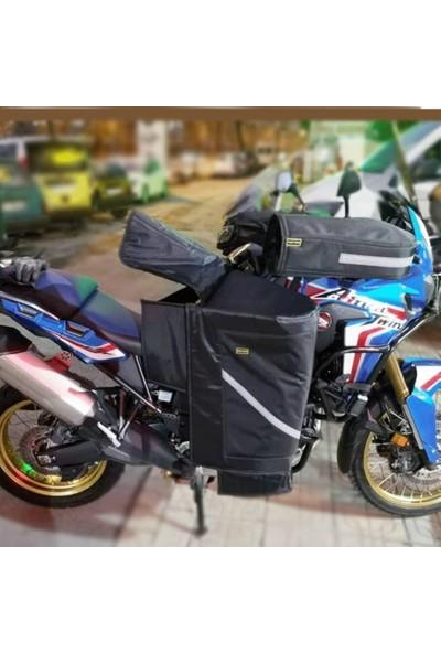 On Off Moto Vitesli Motosiklet Diz Örtüsü Su Rüzgar Itici Yalpalama Yapmaz