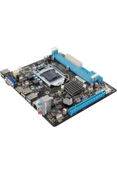Asboard H61 Ffks Pci Express X16,X1 USB 3.0 Hdmi,vga Ddr3 Matx 1155P Anakart