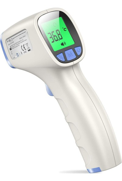 Life Net Medikal Temassız Ateş Ölçer Kızıl Ötesi ve Alından Termometre JPD-FR202