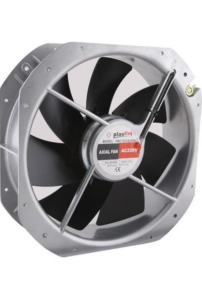 Plastim 280X280X80MM 220V Ac Rulmanlı Aksiyel Fan