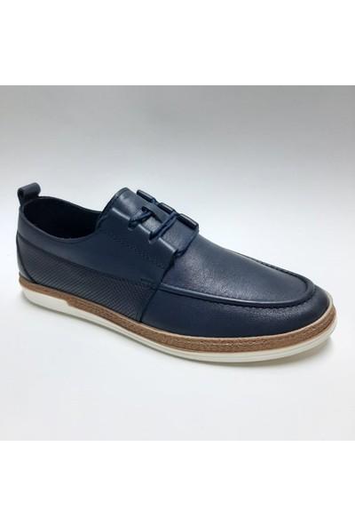 Bordolli Deri Günlük Erkek Ayakkabı