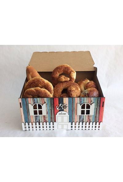 Pratik Dekor Mutfak Ahşap Ekmeklik Alaçatı