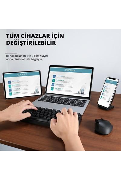 Tronsmart Elite 2.4ghz Wireless Kablosuz Bluetooth Rgb Mekanik Oyun Klavyesi