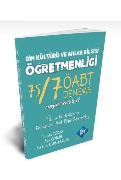 Kr Akademi - Din Kültürü ve Ahlak Bilgisi Öğretmenliği 75/7 Öabt Deneme