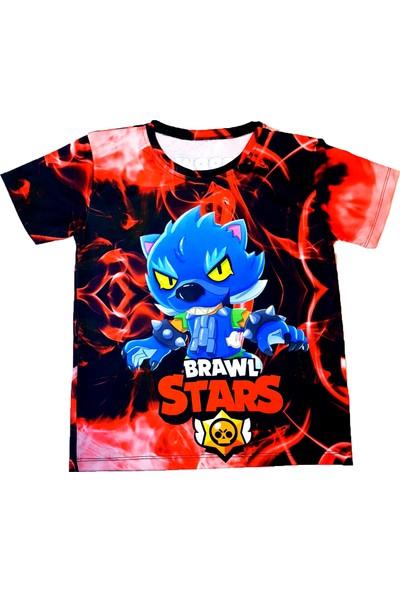 Brawl Stars Kurt Leon Baskılı Tişört