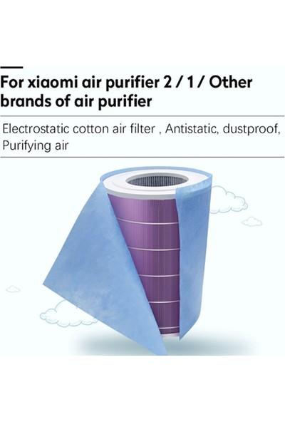 Filter Hauz I Xiaomi Air Purifier Için Toz Tutucu Filtre 4 Adet