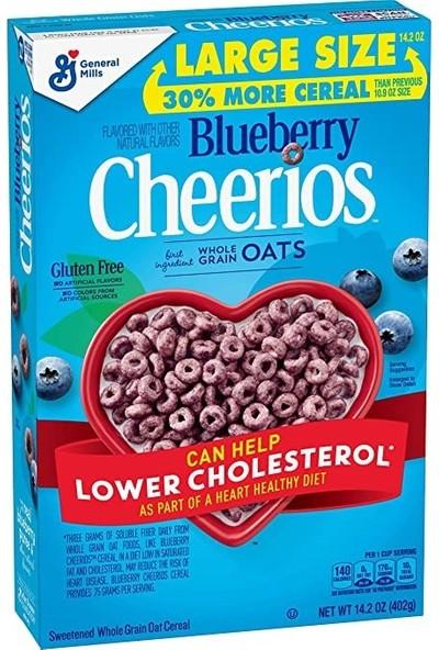 General Mills Cheerios Blueberry Meyveli Yulaf Kahvaltılık Gevrek 402G