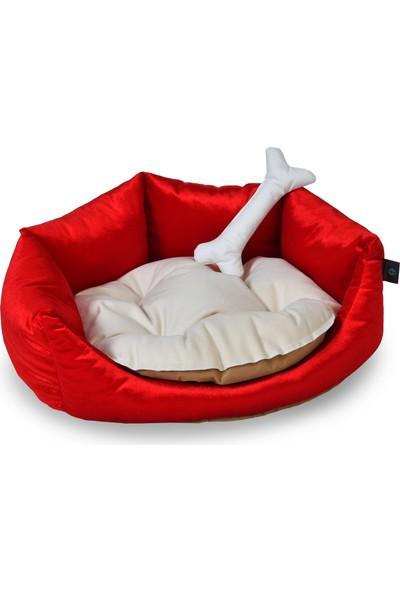Tulyano Soft Kedi Köpek Yatağı 50 x 50 x 20 cm