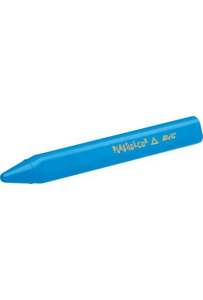 Bic Kids Jumbo Üçgen Elleri Kirletmeyen Yıkanabilir Pastel Boya Kalemi 12 Renk