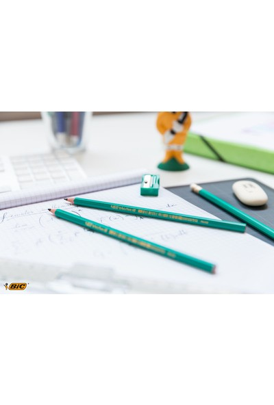 BIC Kurşun Kalem Seti (Silgi + Kalemtıraş)