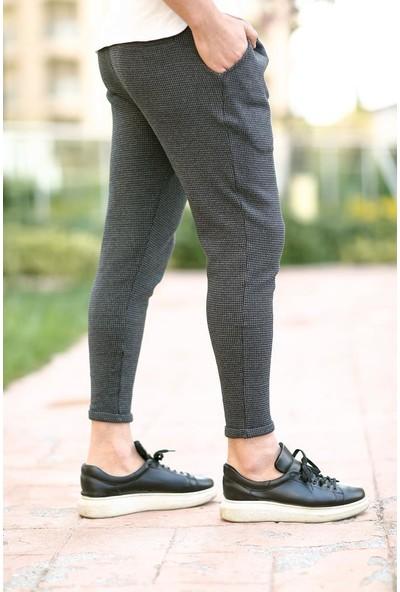 Cool & Wear Cool&wear 11204 Ekoseli Antrasit Erkek Eşofman