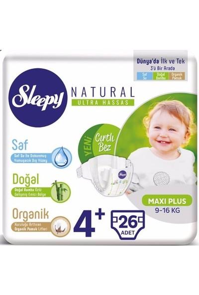 Sleepy Jumbo Bebek Bezi 4+ Numara 26'lı x 5 Paket