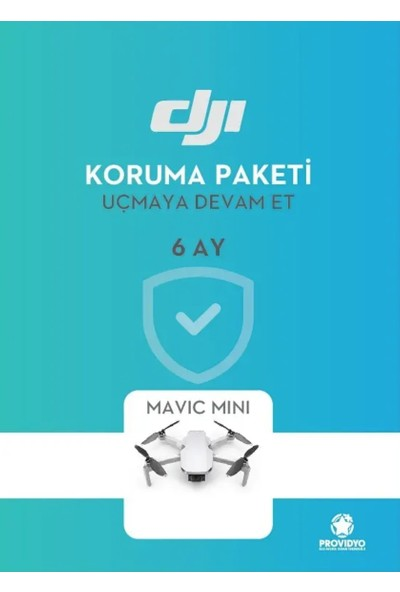 DJI Mavic Mini 6 Aylık Ücretsiz Servis Paketi