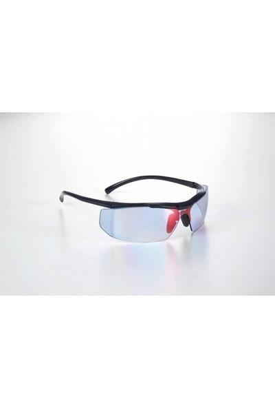 Univet Parlak Mavi Lens Akıllı Ayna Koruyucu Gözlük
