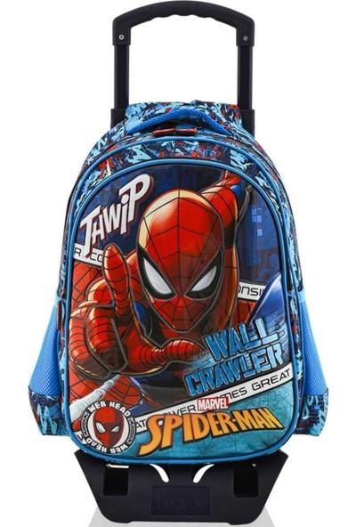 Frocx Spiderman Çekçekli Ilkokul Çanta Seti / Wall Crawler