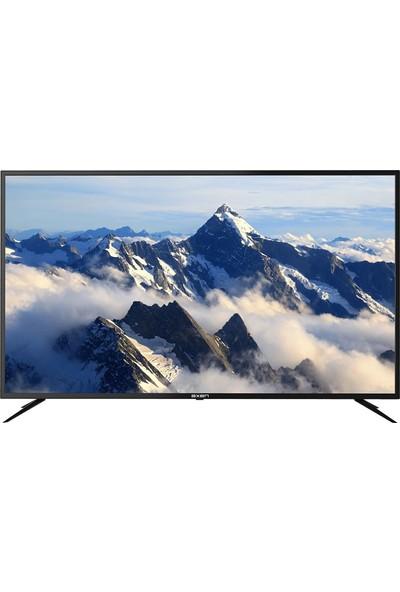 """Axen AX50LEDJ203 50"""" 126 Ekran Uydu Alıcılı 4K Ultra HD Smart Android LED TV"""
