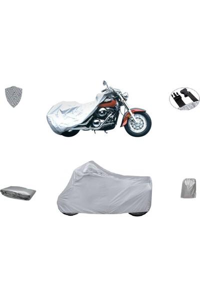 Porfelyo Arora Ar 100-8 Klasik Tel Motosiklet Brandası Branda