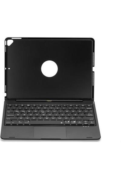 """Nout iPad 10.2""""(8. ve 7 Nesil) Air 10.5"""" (3.Nesil) için Klavyeli Mouselu Kılıf Türkçe Q (TouchPad, RGB Klavye)"""