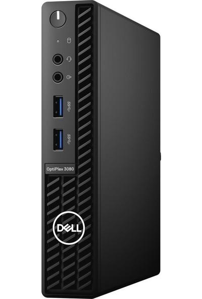 Dell Optiplex 3080MFF Intel Core i3 10100T 4GB 128 SSD Freedos Mini PC N006O3080MFF_U